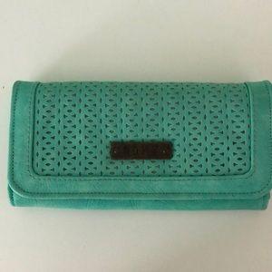 ROXY blue/green wallet